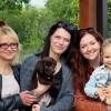Šokoladinių labradoriukų kelionė į šeimas :)